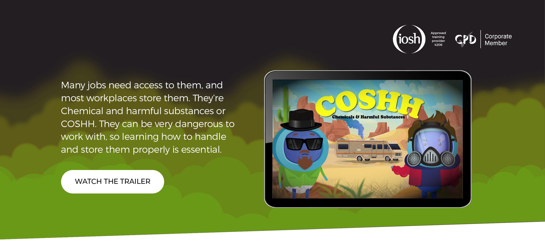 COSH - Landing Page Header