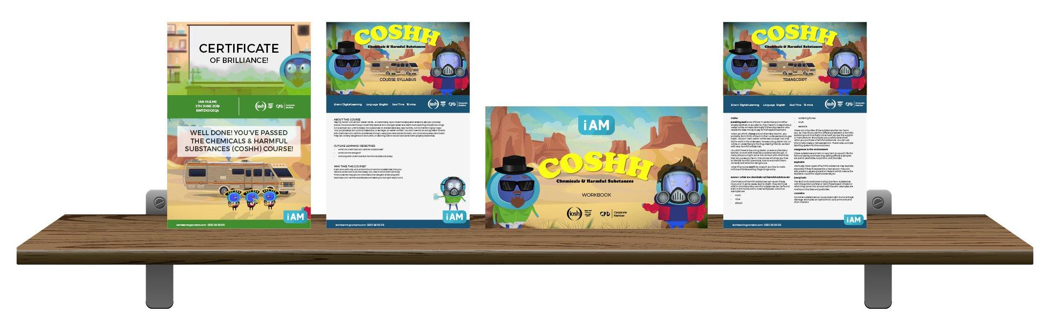COSH - Landing Page Shelf