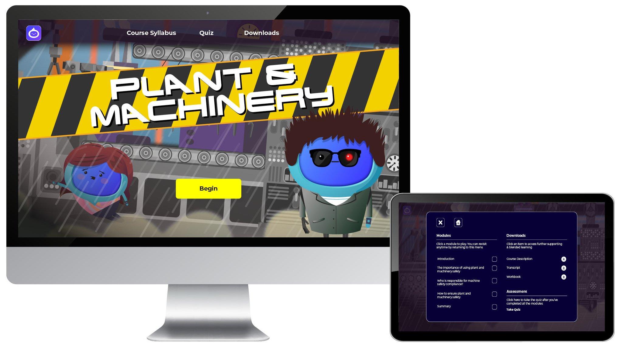 Plant - Landing Page iMAC