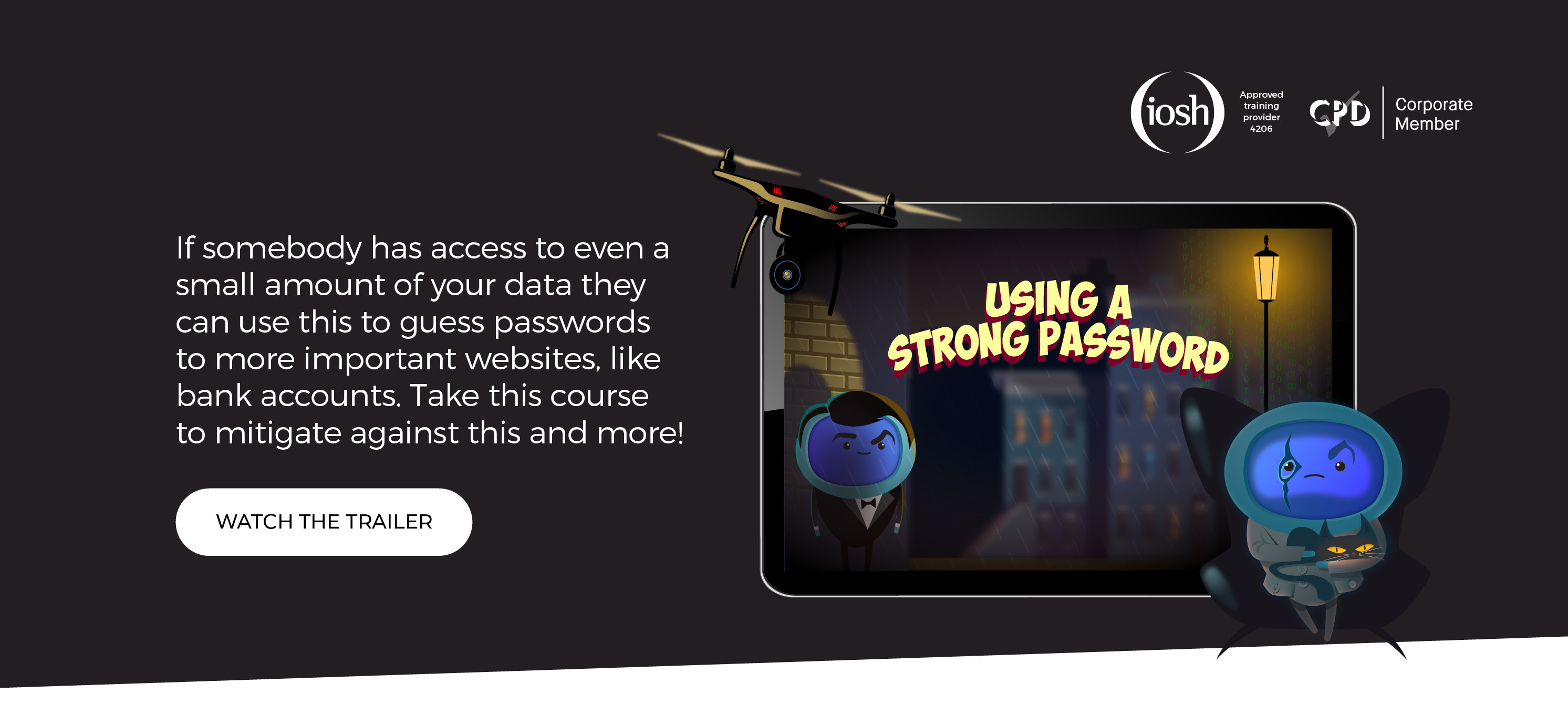 Using a Strong Password - Landing Page6
