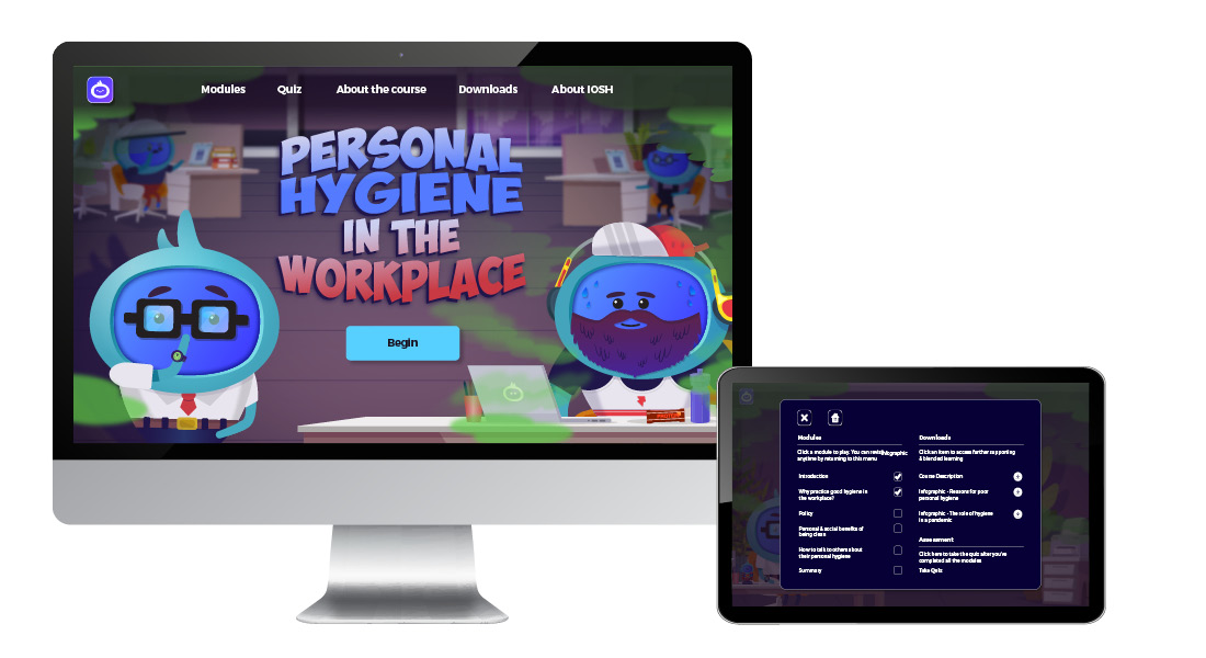 Personal Hygiene in the Workplace - Landing Page images6