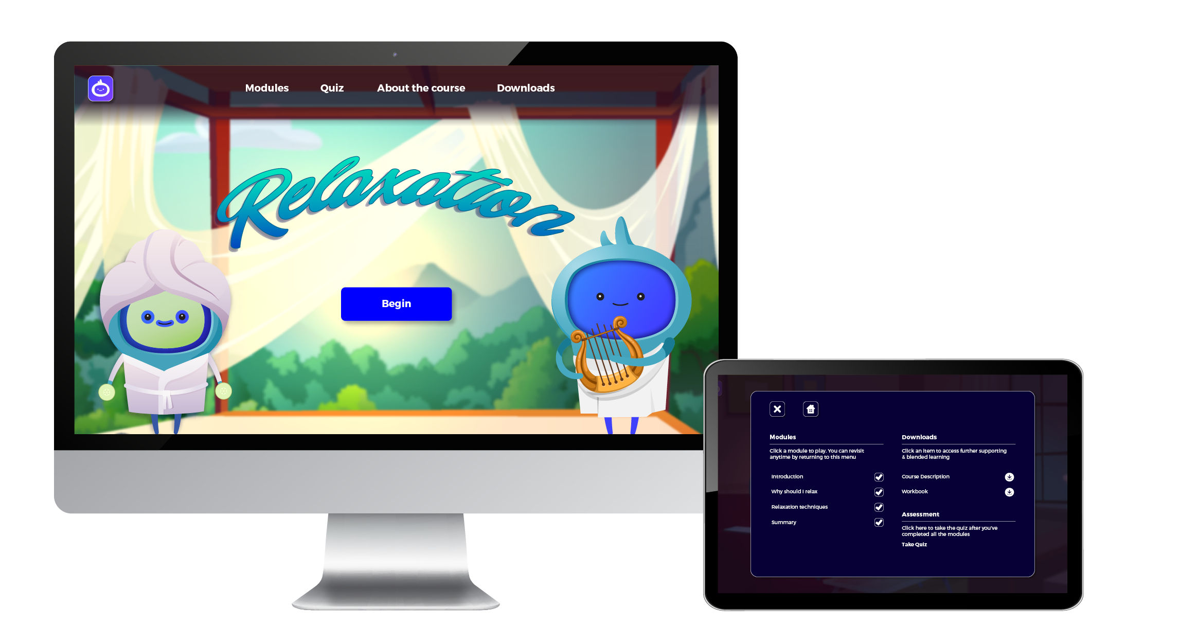 Relaxation - Landing Page7