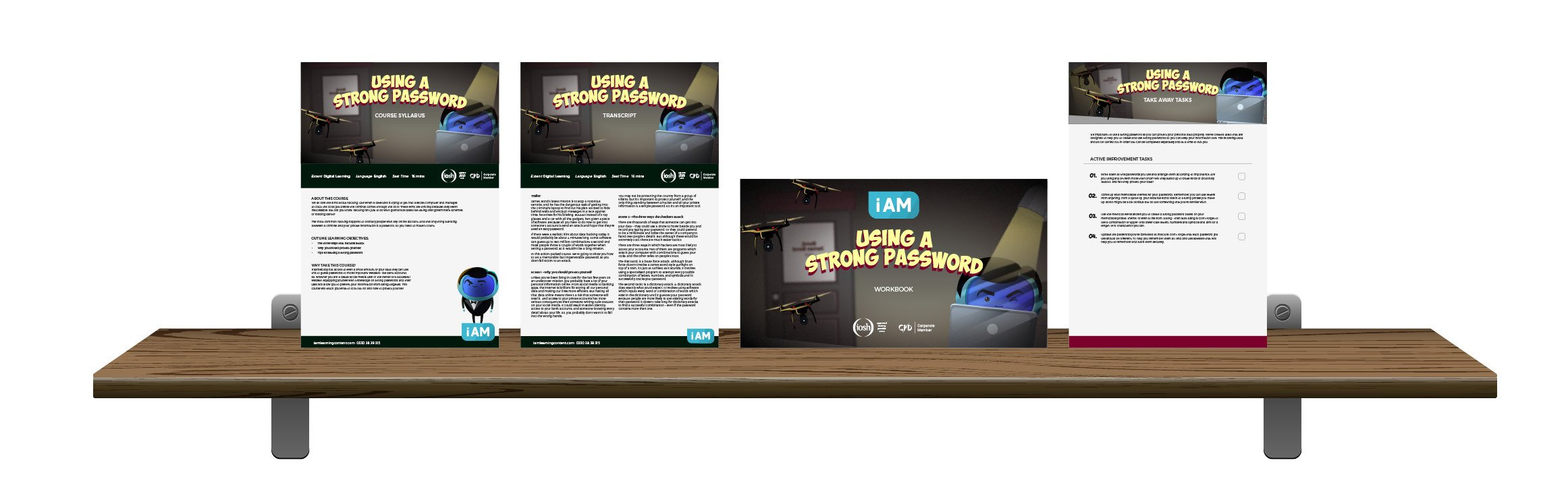 Using a Strong Password - Landing Page5