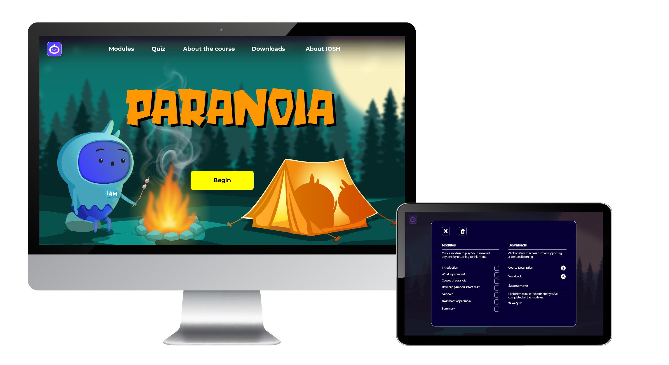 iAM 00009 Paranoia - Landing Page7